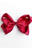 DARK RED BOW