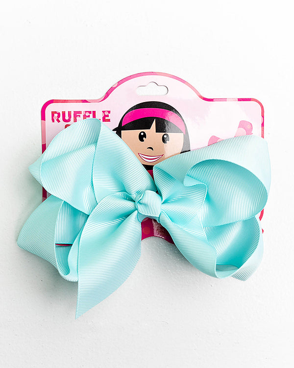iCE BLUE BOW WITH CLIP