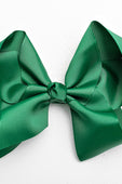 dark green bow