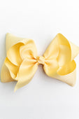 SOFT PEARL YELLOW BOW