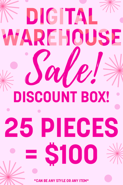 25 Items - Digital Warehouse Sale Discount Box = $100