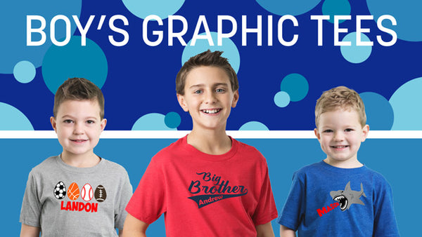 Boy's Graphic Tees