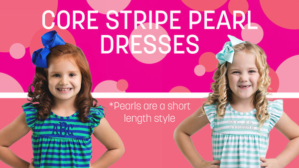 Core Stripe Pearl Dress