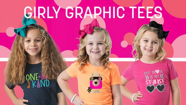 Girly Graphic Tees