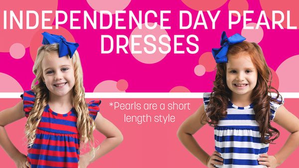 Independence Day Pearl Dresses