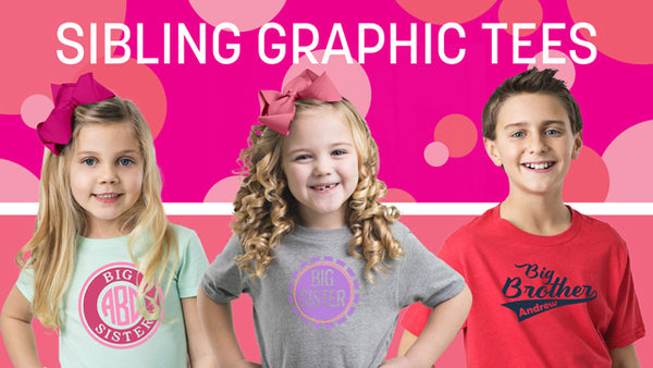 Sibling Graphic tees