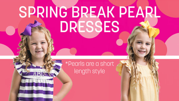 Spring Break Pearl Dresses