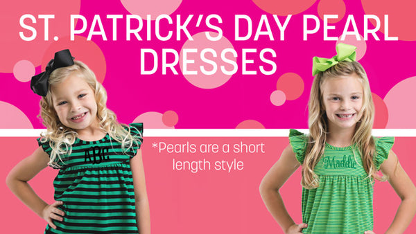 St. Patrick's Day Pearl Dresses