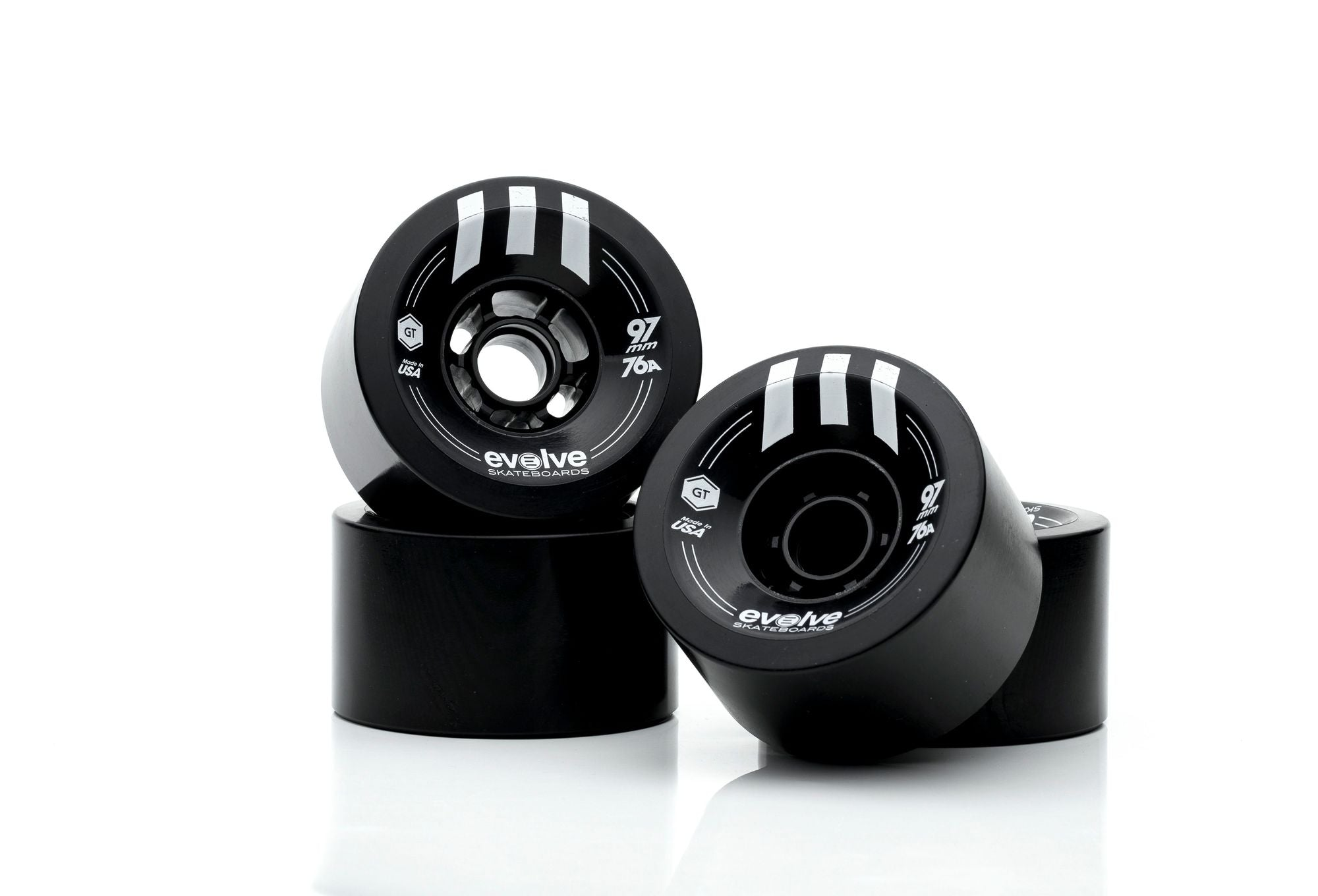 Evolve GTR Street Wheels (97mm, 76a)