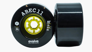 ABEC 11 F1 Wheels 107mm - Evolve Skateboards