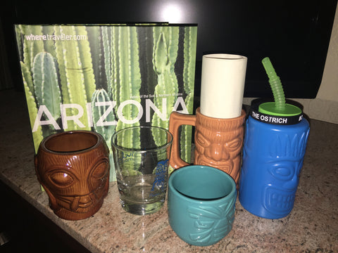 Tiki's and Cacti, A Journey of Tiki Discovery in the Desert!