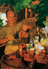 Donn Beach crafting his concoctions