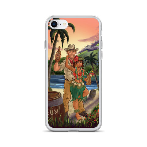 The Paradise Bootlegger iPhone Case
