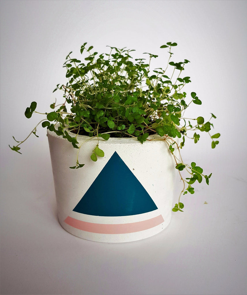 Mini white pot Pico