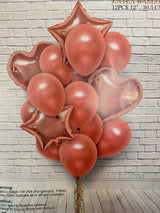 Decoration Foil and Latex balloon set - PartyKingdom 派對王國 | 充氫氣球及氦氣罐專門店