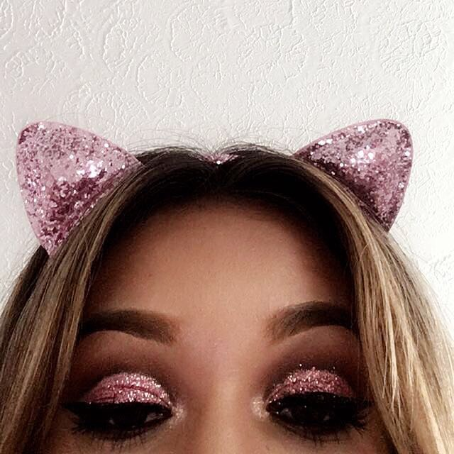 Dubble Bubble Pink Glitter Cut Crease