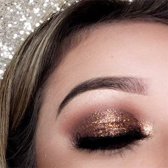 Bronze Glitter Perfection