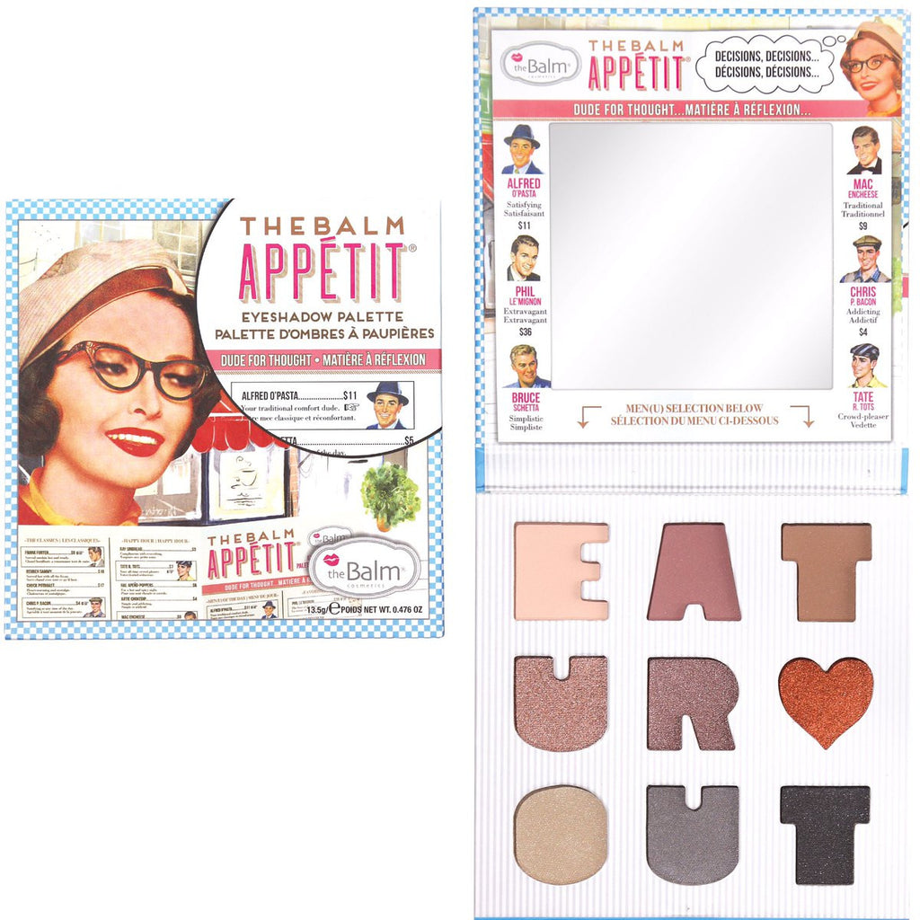 The Balm Cosmetics - The Balm Appetit Eyeshadow Palette