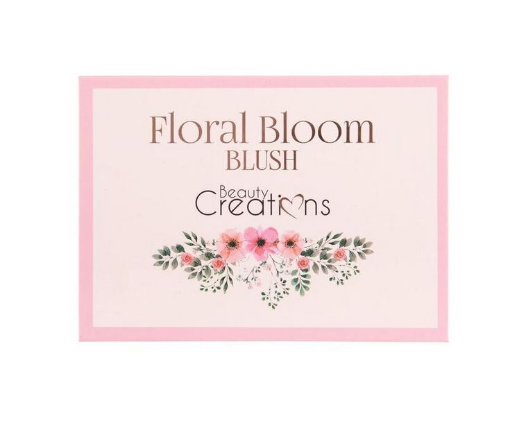 "Beauty Creations - Floral Bloom "" Blush "" Palette"