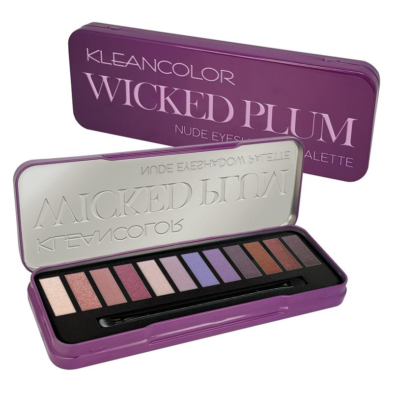 Kleancolor - Wicked Plum Eyeshadow Palette