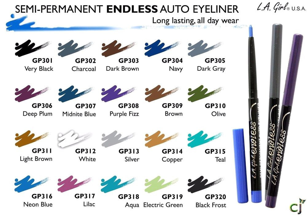 L.A. Girl - Endless Semi Permanent Auto Eyeliner