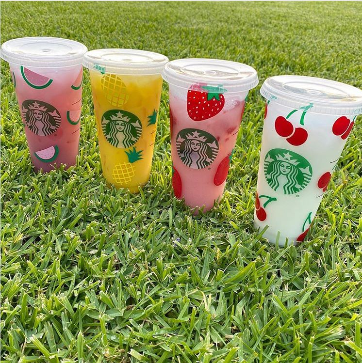 Summer Vibes Starbucks Cup Collection