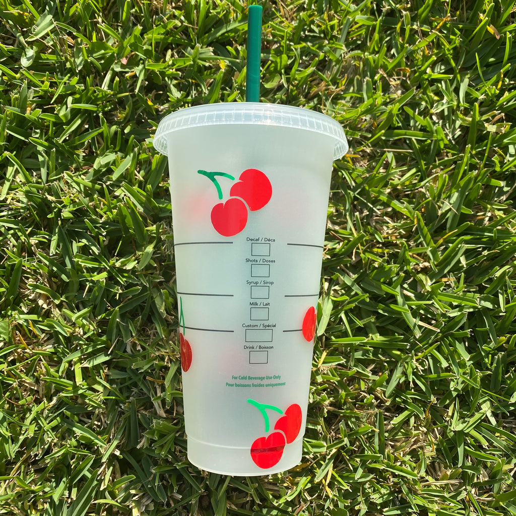 Cherry Bomb Custom Starbucks Cup