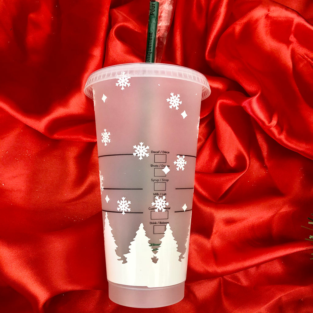 Merry Christmas Starbucks Venti Cup 24oz