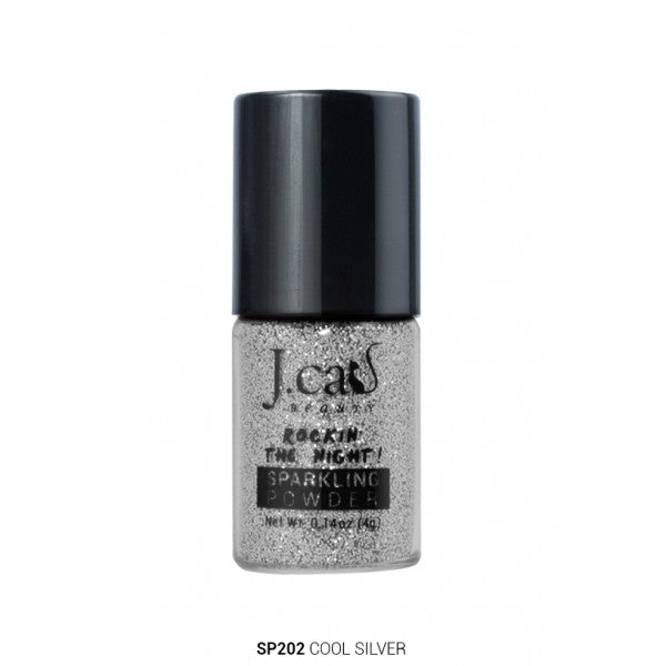 J.Cat - Shimmery Powder 'Cool Silver'