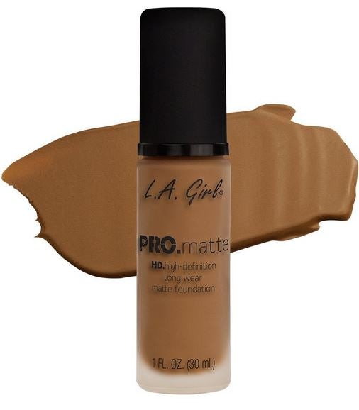 La Girl - Pro Matte Foundation 'Cafe'