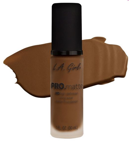 La Girl - Pro Matte Foundation 'Cappuccino'
