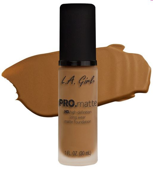 La Girl - Pro Matte Foundation 'Caramel'