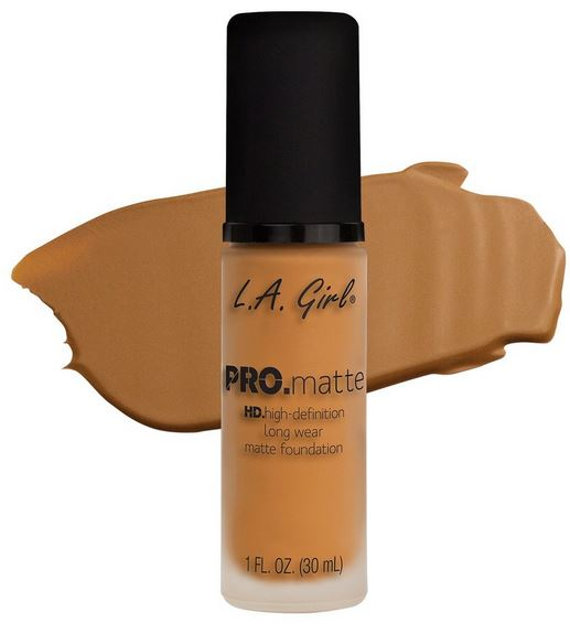 La Girl - Pro Matte Foundation 'Golden Bronze'