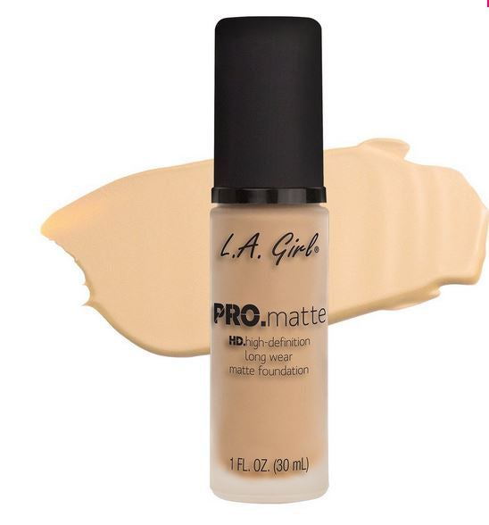 La Girl - Pro Matte Foundation 'Ivory'