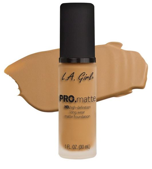 La Girl - Pro Matte Foundation 'Light Tan'