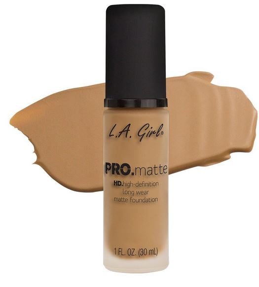 La Girl - Pro Matte Foundation 'Medium Beige'
