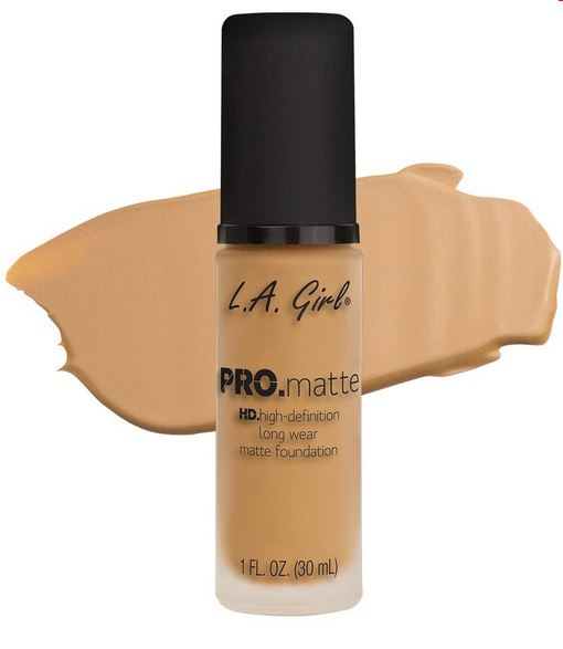 La Girl - Pro Matte Foundation 'Natural'