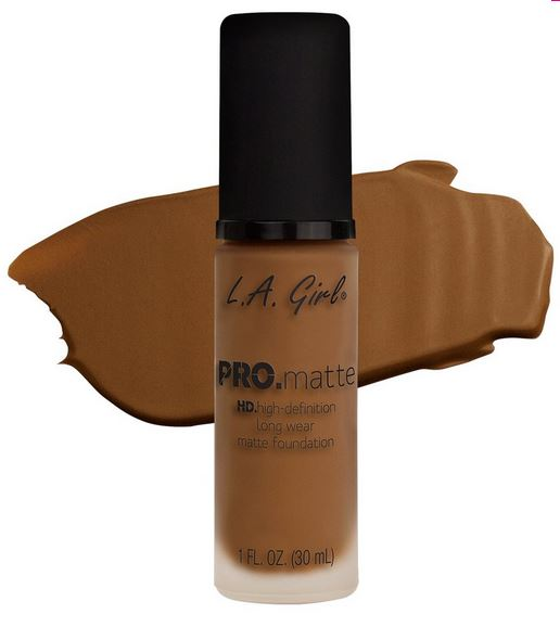 La Girl - Pro Matte Foundation 'Nutmeg'