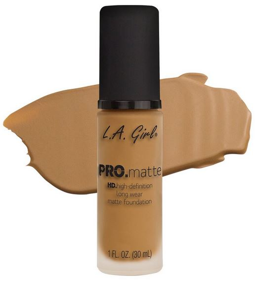 La Girl - Pro Matte Foundation 'Sand'