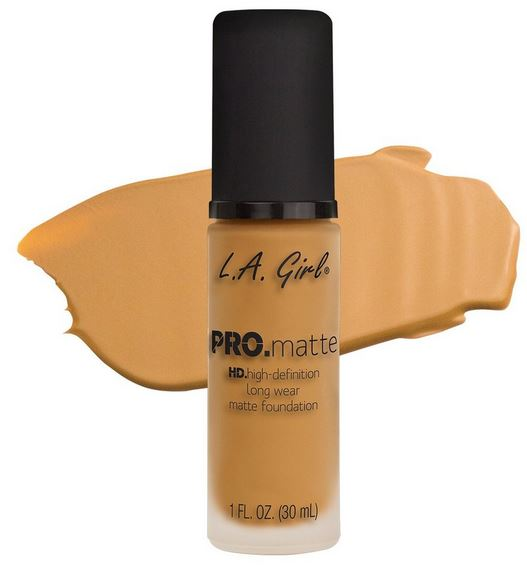 La Girl - Pro Matte Foundation 'Soft Honey'