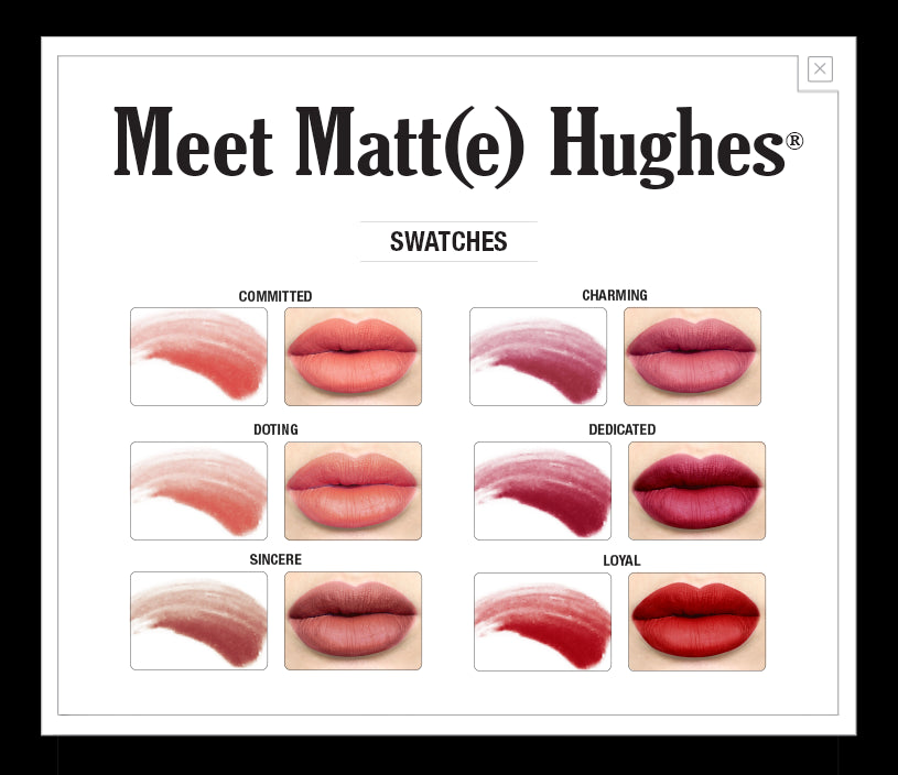 The Balm Cosmetics - Meet Matte Hughes Long-Lasting Lipsticks