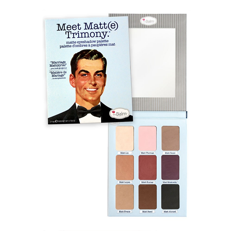 The Balm Cosmetics - Meet Matte Trimony Eyeshadow Palette