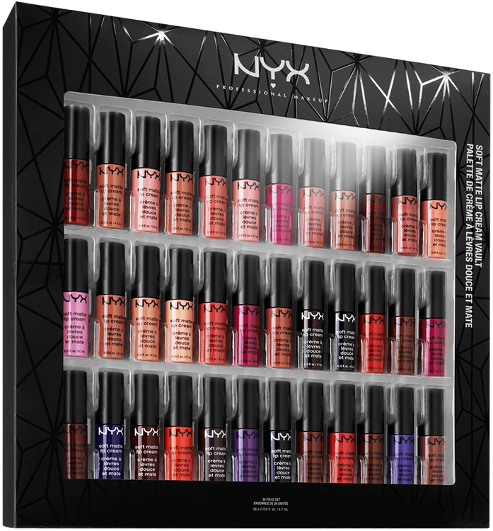 NYX - Soft Matte Lip Cream Vault 1