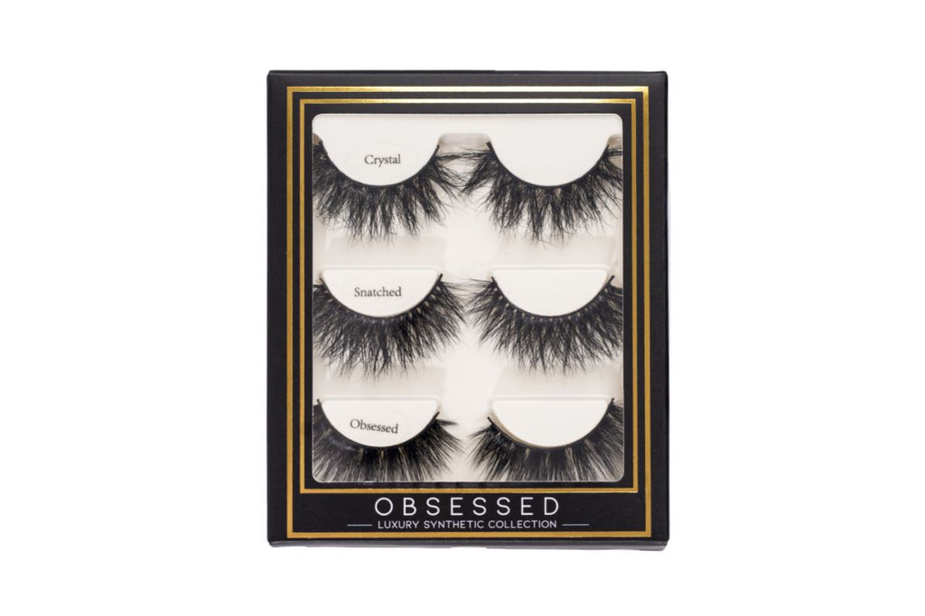 Obsessed Synthetic Lash Set - Crystal, Snatched, Obsessed