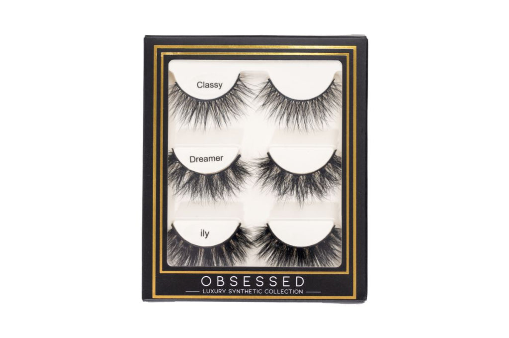 Obsessed Synthetic Lash Set - Classy, Dreamer, Ily