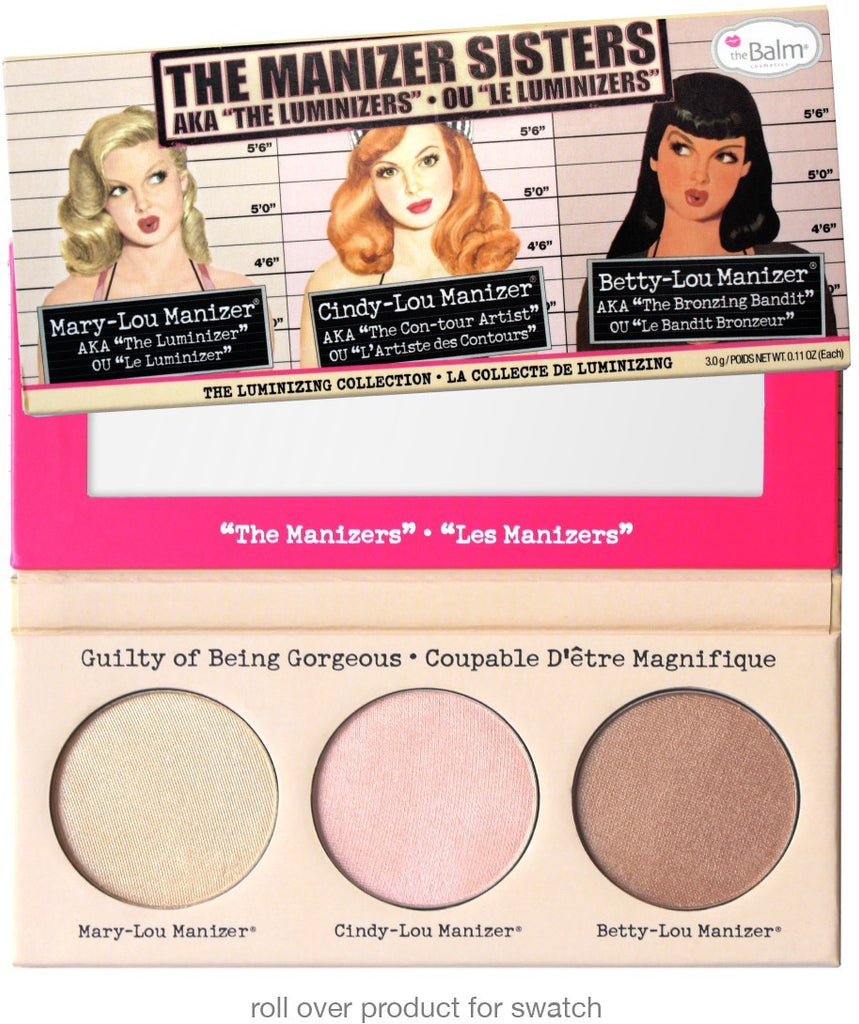 The Balm Cosmetics - The Manizer Sisters Highlighter Palette