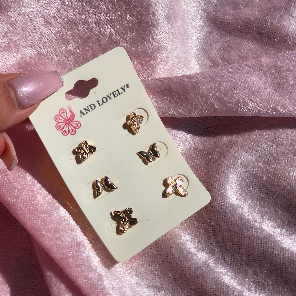 Butterfly Love Earrings