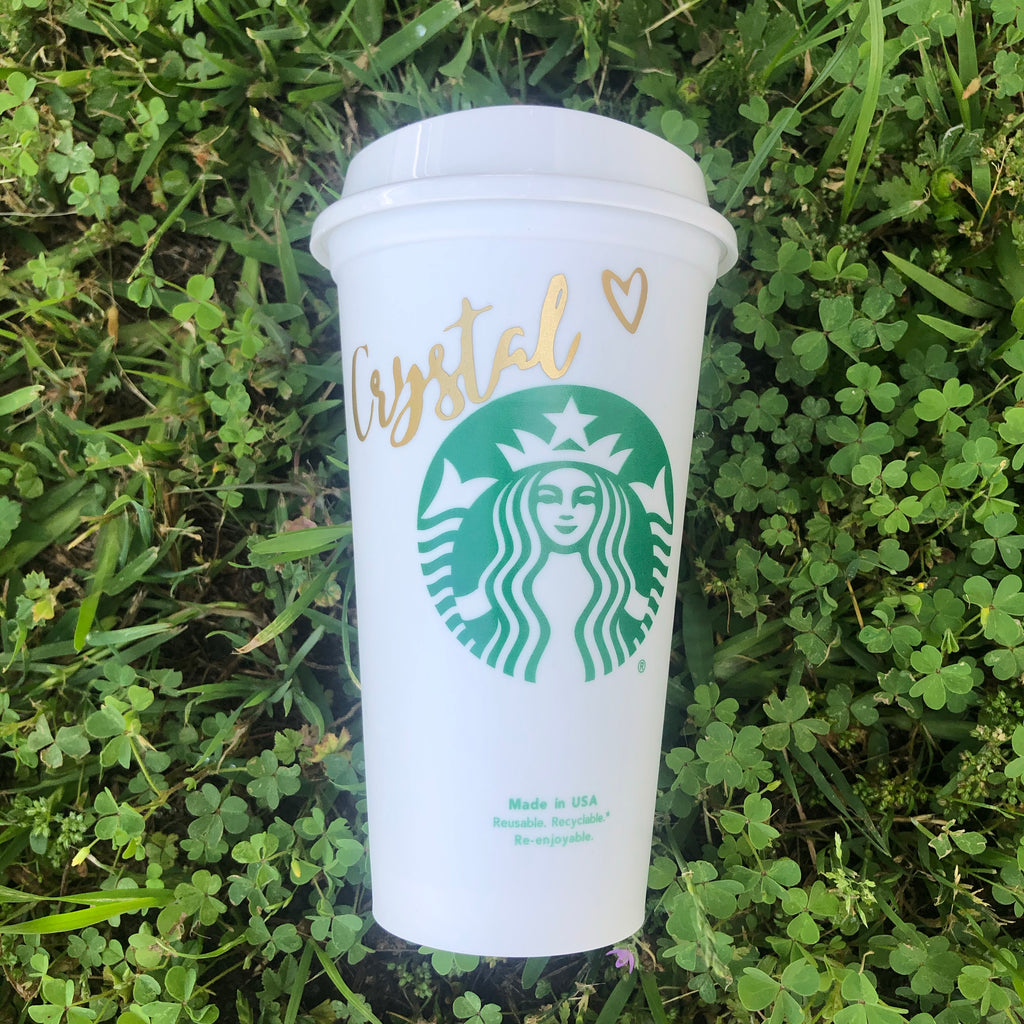 Custom Name Hot Starbucks Cup