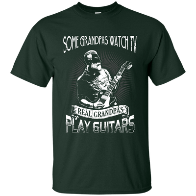 Real Grandpas Play Guitars Not TV T-Shirt