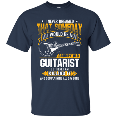 Grumpy Old Guitarist T Shirt